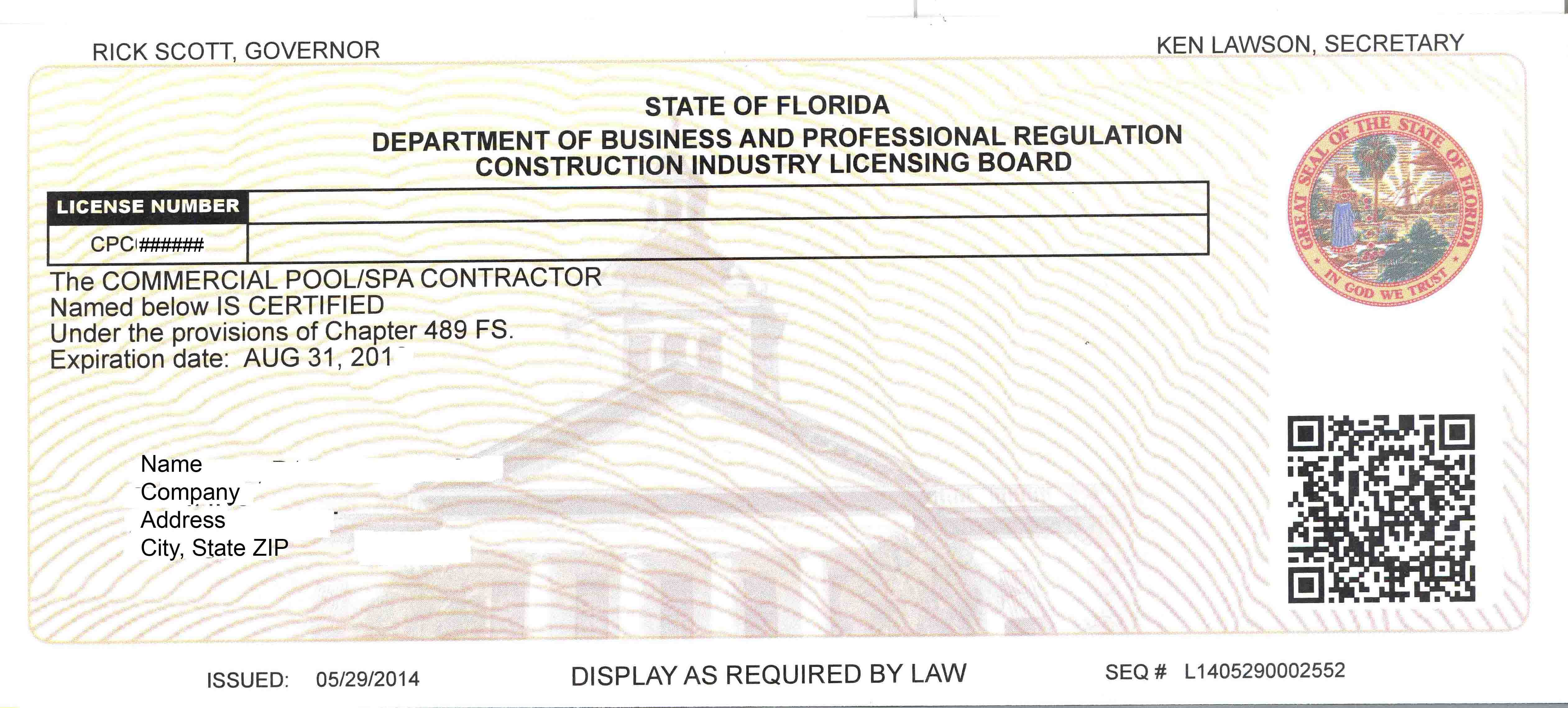 orange county occupational license Benefits of Hiring a Licensed Pool Contractor in Orlando